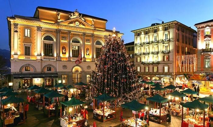 Weihnachtsmarkt Lugano