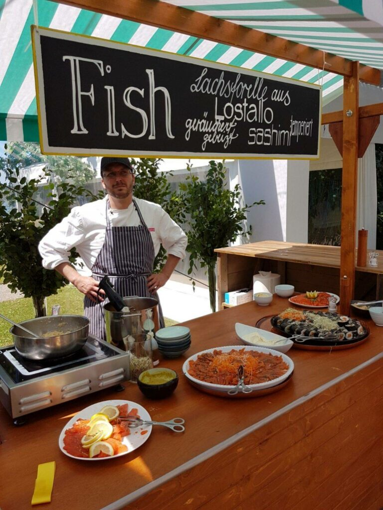 Swiss Lachs Stand
