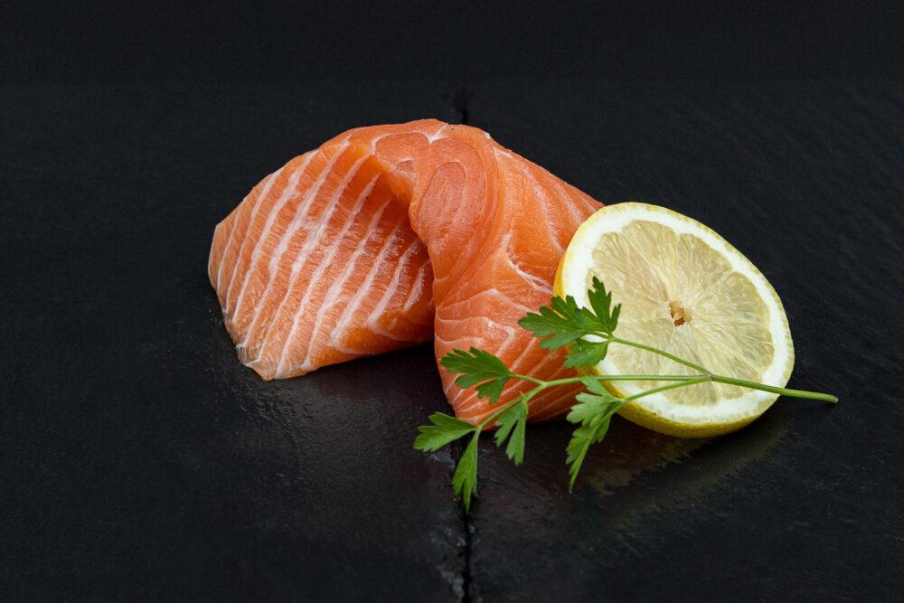 sashimi mit - SWISS LACHS Alpiner Lachs