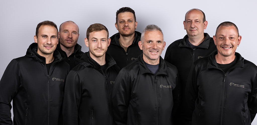team fish farming technik - SWISS LACHS Alpiner Lachs