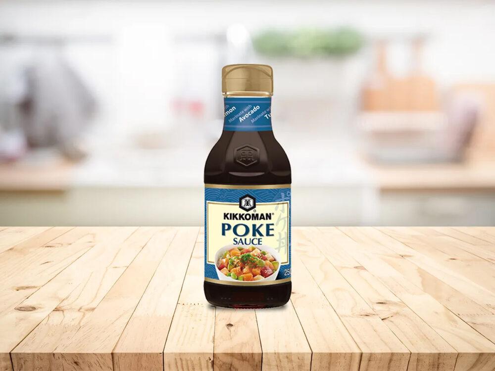 Kikkoman Poke Sauce - SWISS LACHS Alpiner Lachs