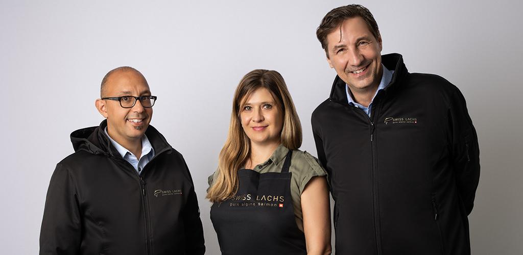 team marketing verkauf administration - SWISS LACHS Alpiner Lachs